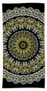Kaleidoscope Ernst Haeckl Sea Life Series Steampunk Feel Beach Towel