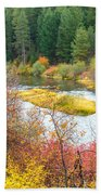 Sprague River Oregon Beach Towel