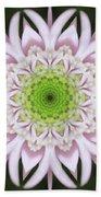 Kaleidoscope Pink Daisy Beach Towel