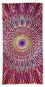 Kaleidoscope Retro  Beach Towel