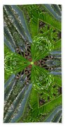 Kalido Plant Fronds Beach Towel