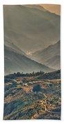 Kalinchok Kathmandu Valley Nepal Beach Towel