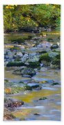Kanaka Creek In The Fall Beach Towel