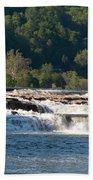 Kanawah Falls I - Spring Beach Towel