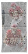 Kansas City Chiefs Legends Beach Towel