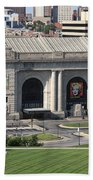 Kansas City - Union Station Beach Towel