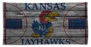 Kansas Jayhawks Beach Towel