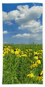 Kansas Prairie Beach Towel