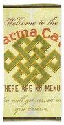 Karma Cafe Beach Sheet