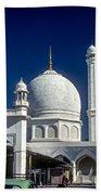 Kashmir Mosque Beach Towel by Steve Harrington