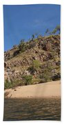 Katherine Gorge Landscapes Beach Sheet