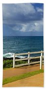 Kauai Beach - Morning Storm Beach Towel