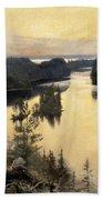 Kaukola Ridge At Sunset Beach Towel