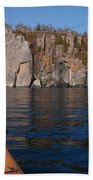 Kayaking Beneath The Light Beach Towel