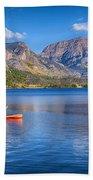 Kayaking Grand Lake Beach Towel
