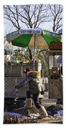 Keep Park Clean - Central Park - Nyc Beach Towel