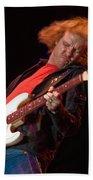 Kenny Wayne Shepherd Rocks His Stratocaster Beach Towel