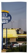 Ken's Ice Cream Sandwiches Beach Towel