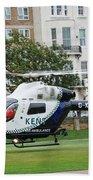 Kent Air Ambulance Beach Towel
