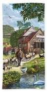 Kentish Farmer Beach Towel