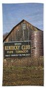 Kentucky Club Barn Beach Towel