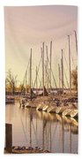 Kentucky Lake Sail Boats Beach Towel