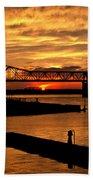 Kentucky Sunset Beach Towel