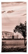 Kentucky - United States Bullion Depository Fort Knox Beach Towel