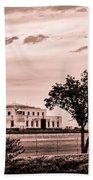 Kentucky - United States Bullion Depository Fort Knox Beach Towel