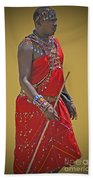 Kenya Warrior Beach Towel