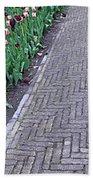 Keukenhof Gardens Panoramic 24 Beach Towel