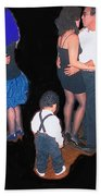 Kevin Howard's Wedding Dancers Tucson Arizona 1990-2012 Beach Towel