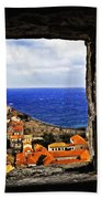 Key Hole View Of Dubrovnik Beach Towel