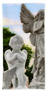 Key West Angels Beach Towel