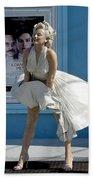 Key West Marilyn Beach Towel