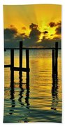 Keys Sunset Beach Towel