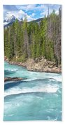 Kicking Horse River In Yoho Np-bc Beach Towel