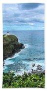 Kilauea Lighthouse Beach Towel