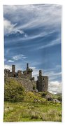 Kilchurn Castle 01 Beach Towel