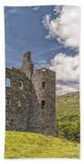 Kilchurn Castle 03 Beach Towel