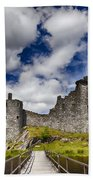 Kilchurn Castle Scotland Beach Towel