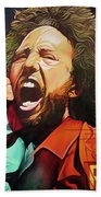 Zack De La Rocha-killing In The Name  Beach Towel