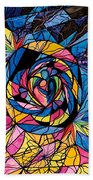 Kindred Soul Beach Towel by Teal Eye  Print Store