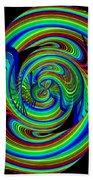 Kinetic Rainbow 26 Beach Towel