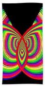Kinetic Rainbow 27 Beach Towel