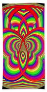 Kinetic Rainbow 28 Beach Towel