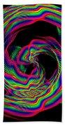 Kinetic Rainbow 36 Beach Towel