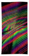 Kinetic Rainbow 43 Beach Towel