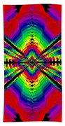 Kinetic Rainbow 44 Beach Towel