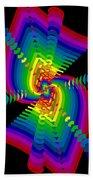 Kinetic Rainbow 47 Beach Towel